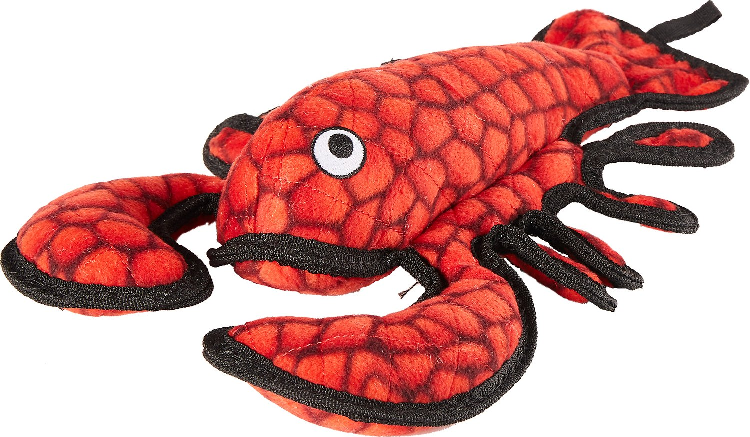 Tuffy's Ocean Creatures Larry Lobster Dog Toy