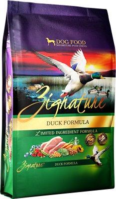 Zignature Duck Limited Ingredient Formula Grain-Free Dry Dog Food