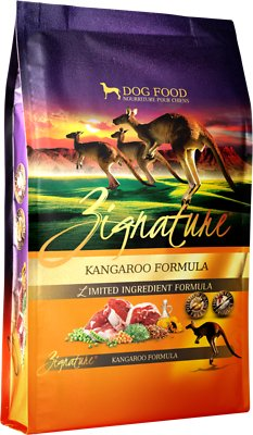Zignature Kangaroo Limited Ingredient Formula Grain-Free Dry Dog Food, 4-lb bag