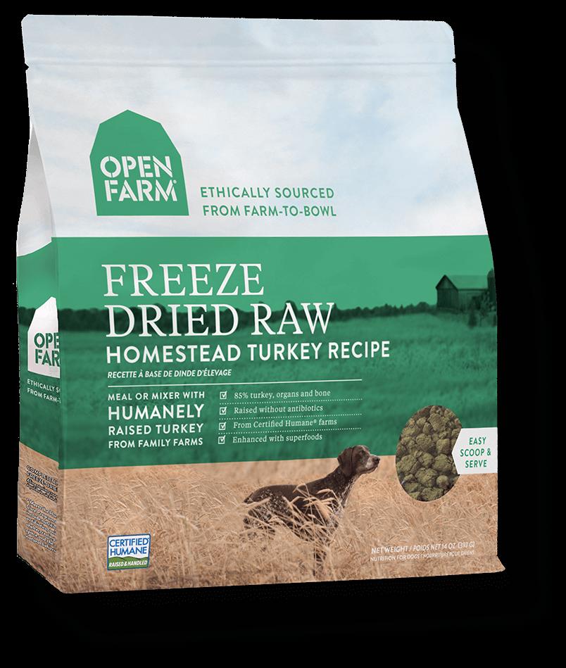 Nutram Grain Free Homestead Turkey Recipe Freeze Dried Raw Dog Food