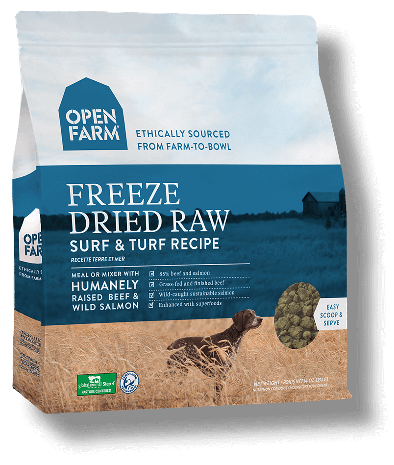 Nutram Grain Free Surf & Turf Recipe Freeze Dried Raw Dog Food