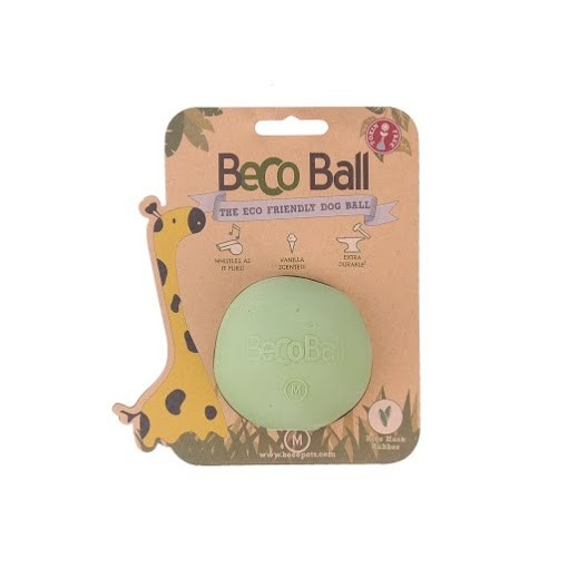 Beco Ball Dog Toy Dog Toy, Green, Medium