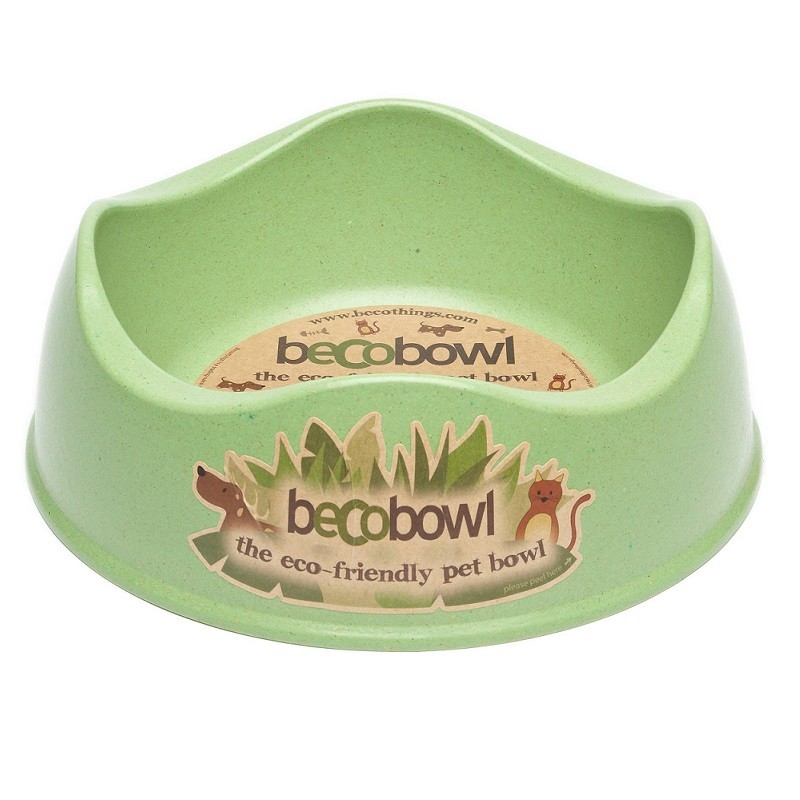 Beco Bowl for Dog & Cat Green X-Small