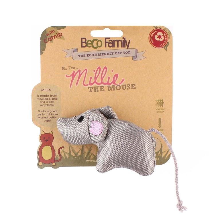 Beco Plush Mouse Dog Toy