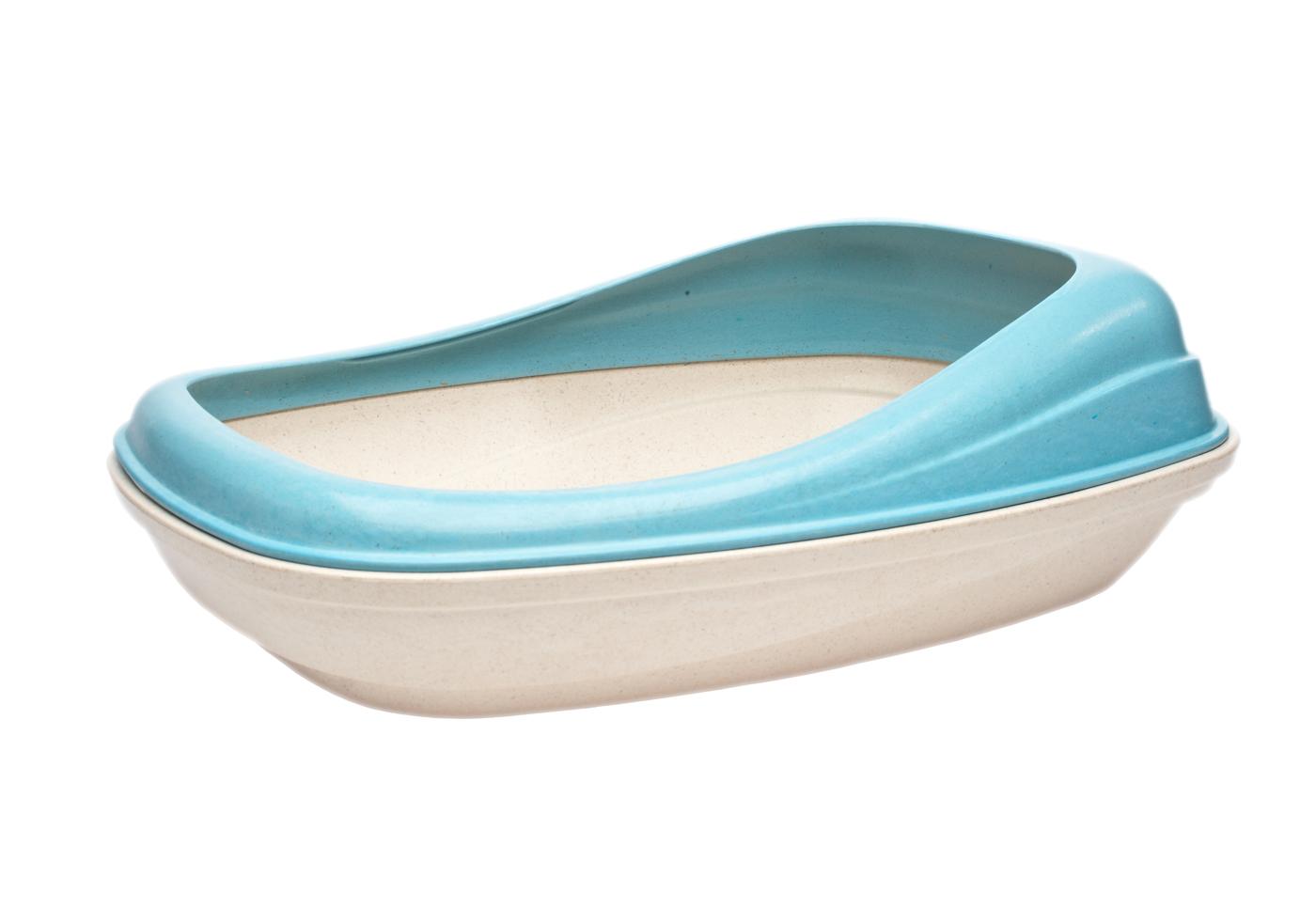 Beco Tray Cat Litter Pan - Blue
