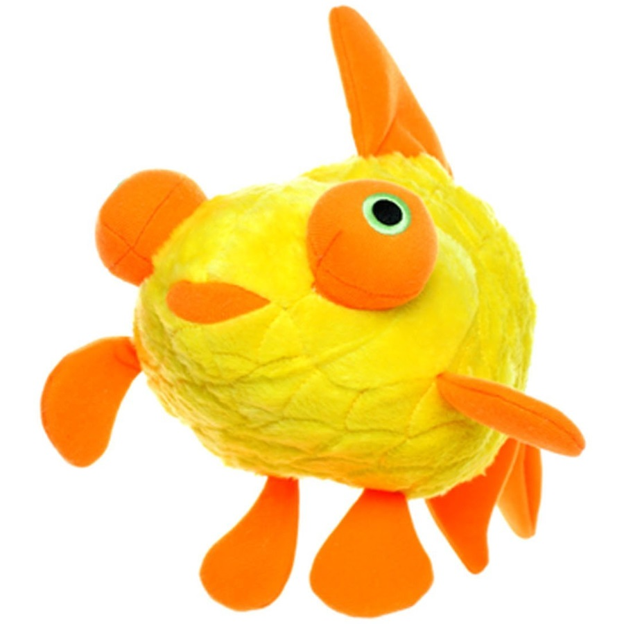 VIP Mighty Ocean Junior Goldfish Dog Toy