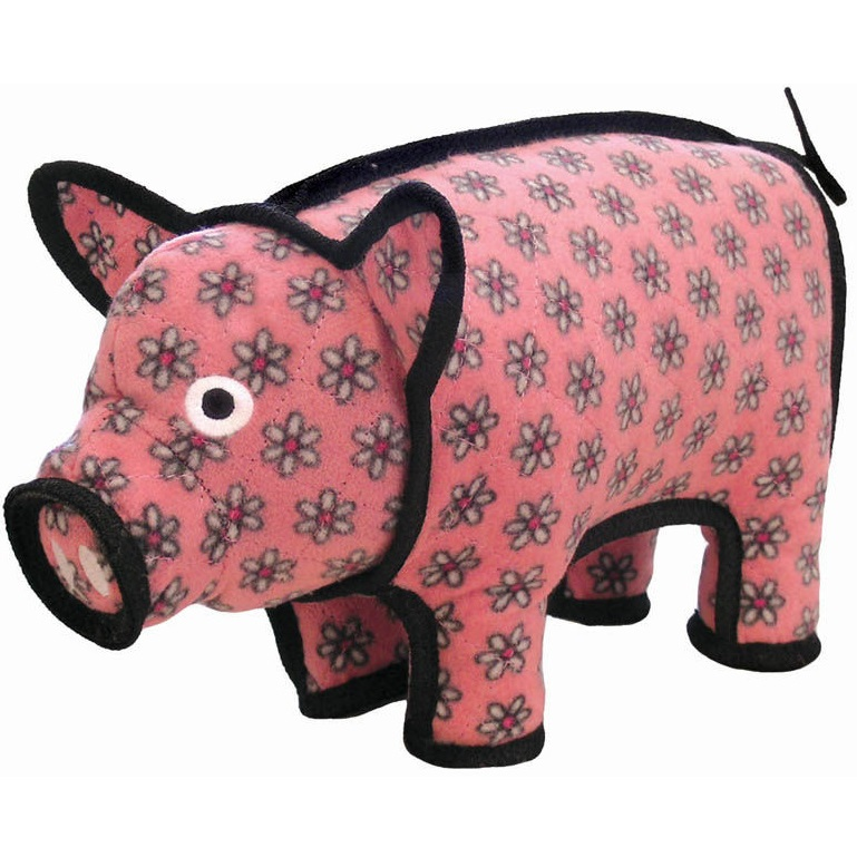 Tuffy Barnyard Pig Dog Toy