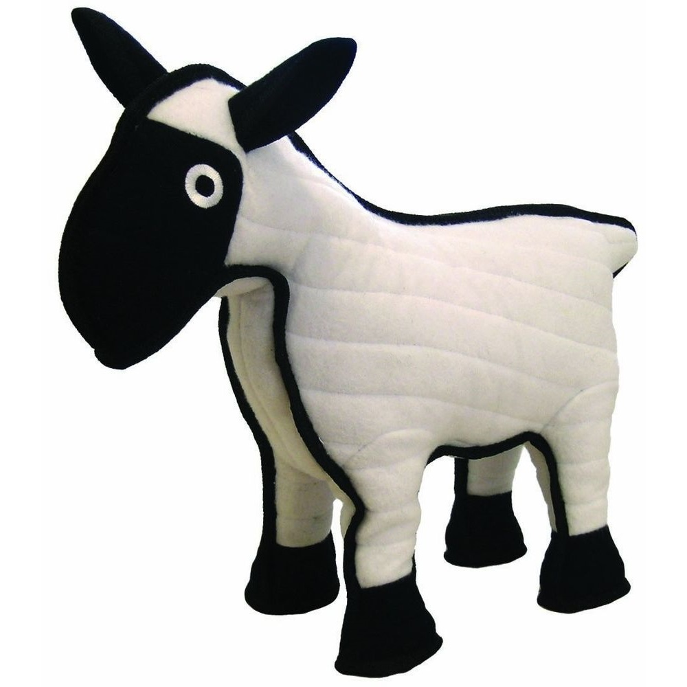 Tuffy Barnyard Sheep Dog Toy