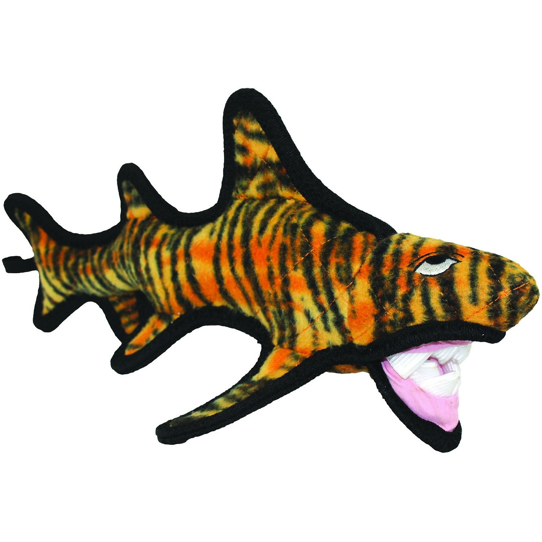 Tuffy Ocean Creature Tiger Shark Dog Toy Image