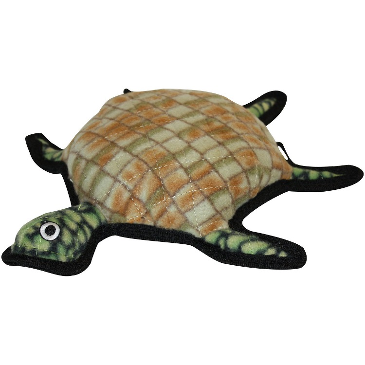 Tuffy's Ocean Creature Turtle Burtle Dog Toy
