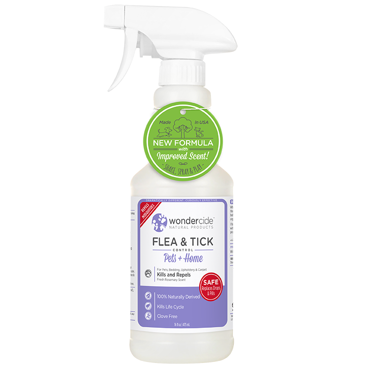 Wondercide 'FLEA & TICK' Natural Flea, Tick & Mosquito Control for Dogs, Cats & Home - Rosemary Scent