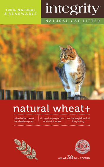 Integrity Natural Wheat + Cat Litter, 22-lb