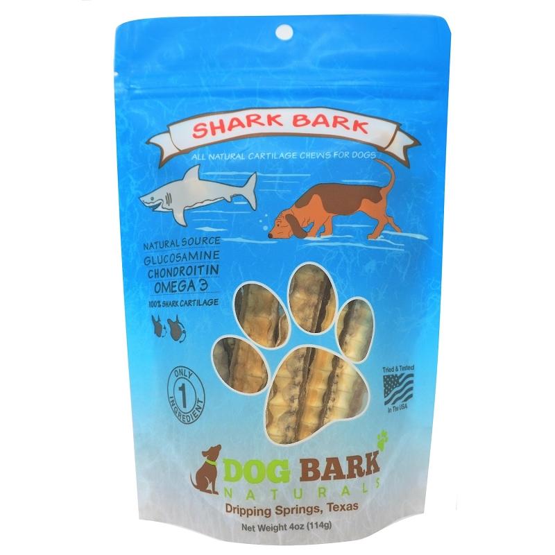 Dog Bark Naturals Shark Bark Dog Treats