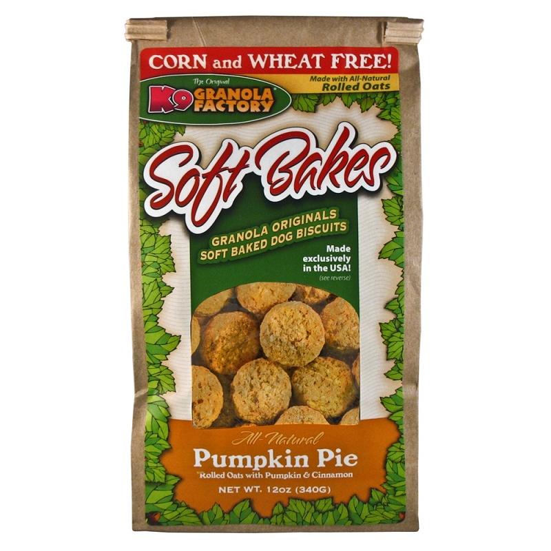K9 Granola Factory Soft Bakes Pumpkin Pie Recipe Dog Treats