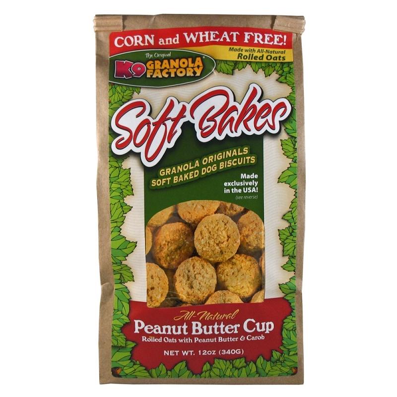 K9 Granola Factory Soft Bakes Peanut Butter Cup Dog Treats