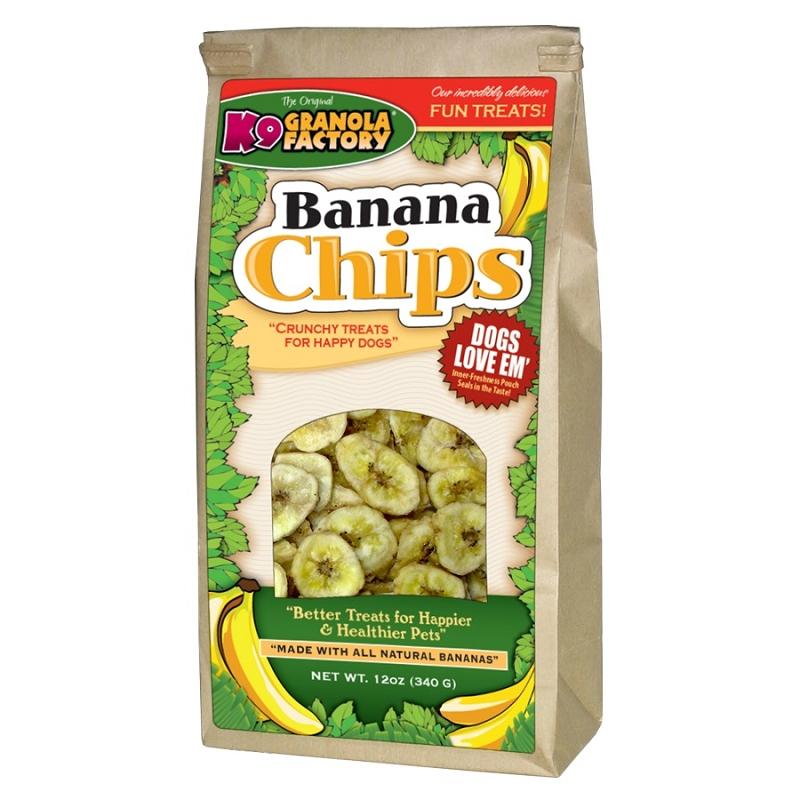 K9 Granola Factory Banana Chips Dog Treats