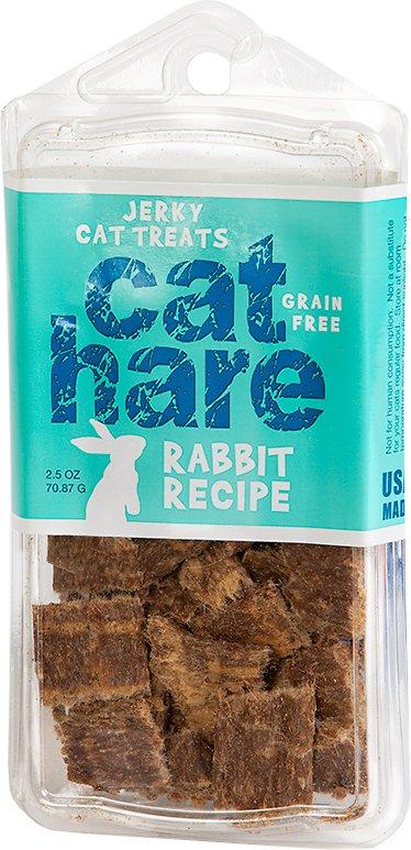 Hare of the Dog Cat Hare 100% Rabbit Jerky Cat Treats