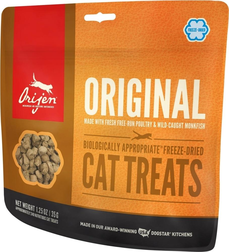 ORIJEN Freeze Dried Original Cat Treats, 1.25-oz