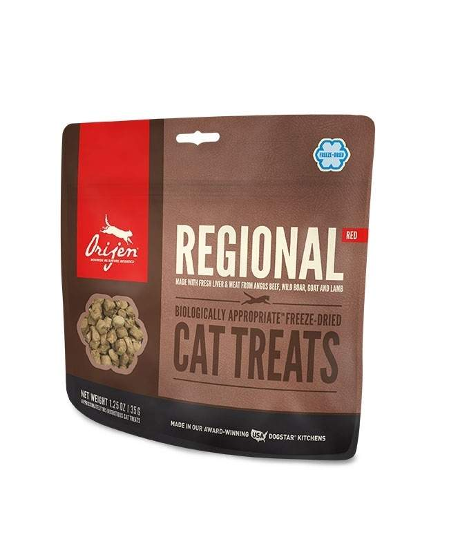 ORIJEN Freeze Dried Regional Red Cat Treats, 1.25-oz