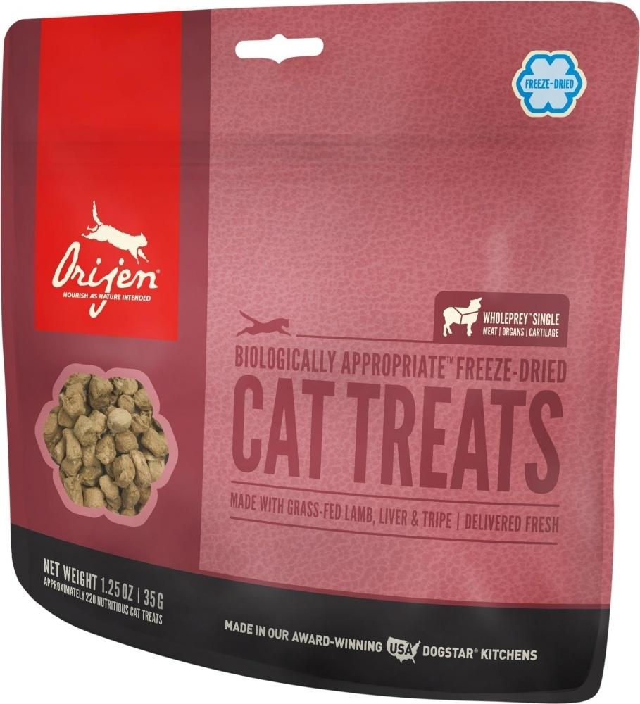 ORIJEN Freeze Dried Grass Fed Lamb Cat Treats, 1.25-oz