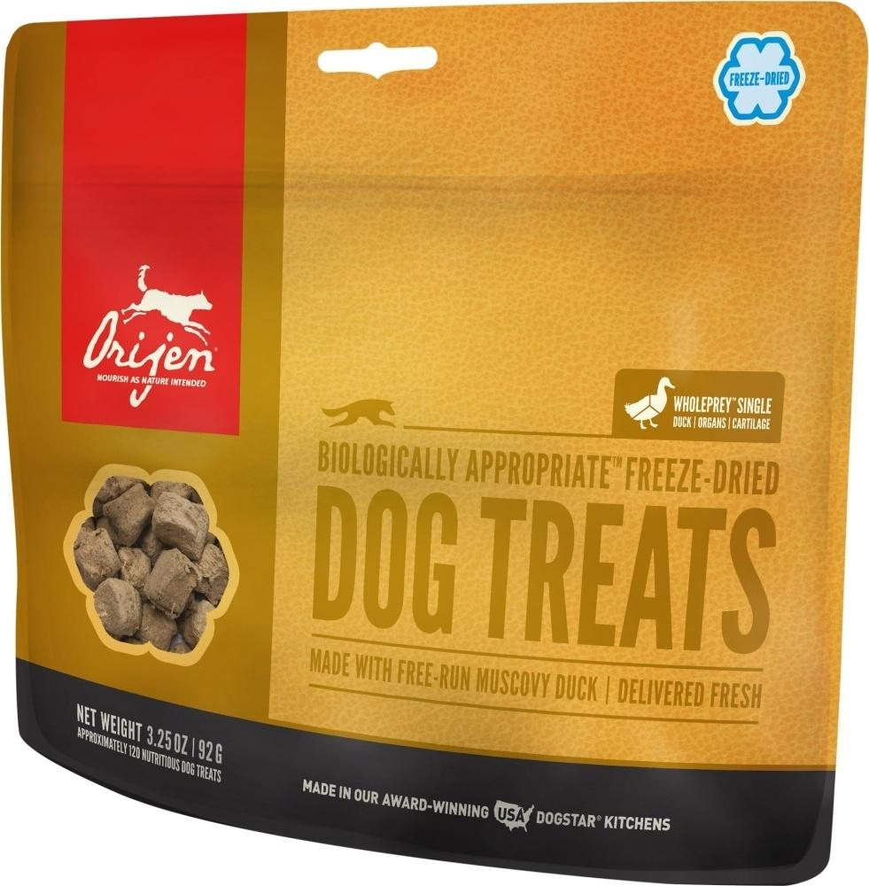 ORIJEN Freeze Dried Free Run Duck Dog Treats, 3.25-oz