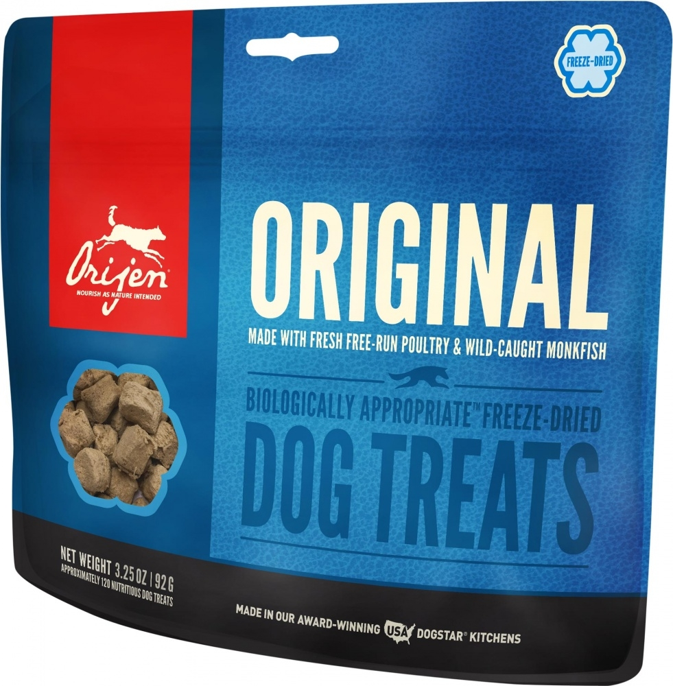 ORIJEN Freeze Dried Original Dog Treats, 3.25-oz