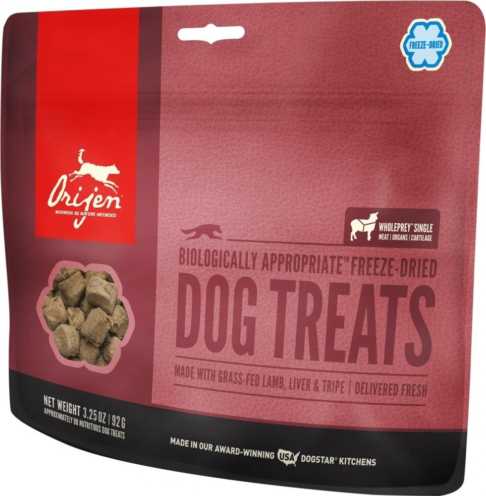 ORIJEN Freeze Dried Grass Fed Lamb Dog Treats, 3.25-oz
