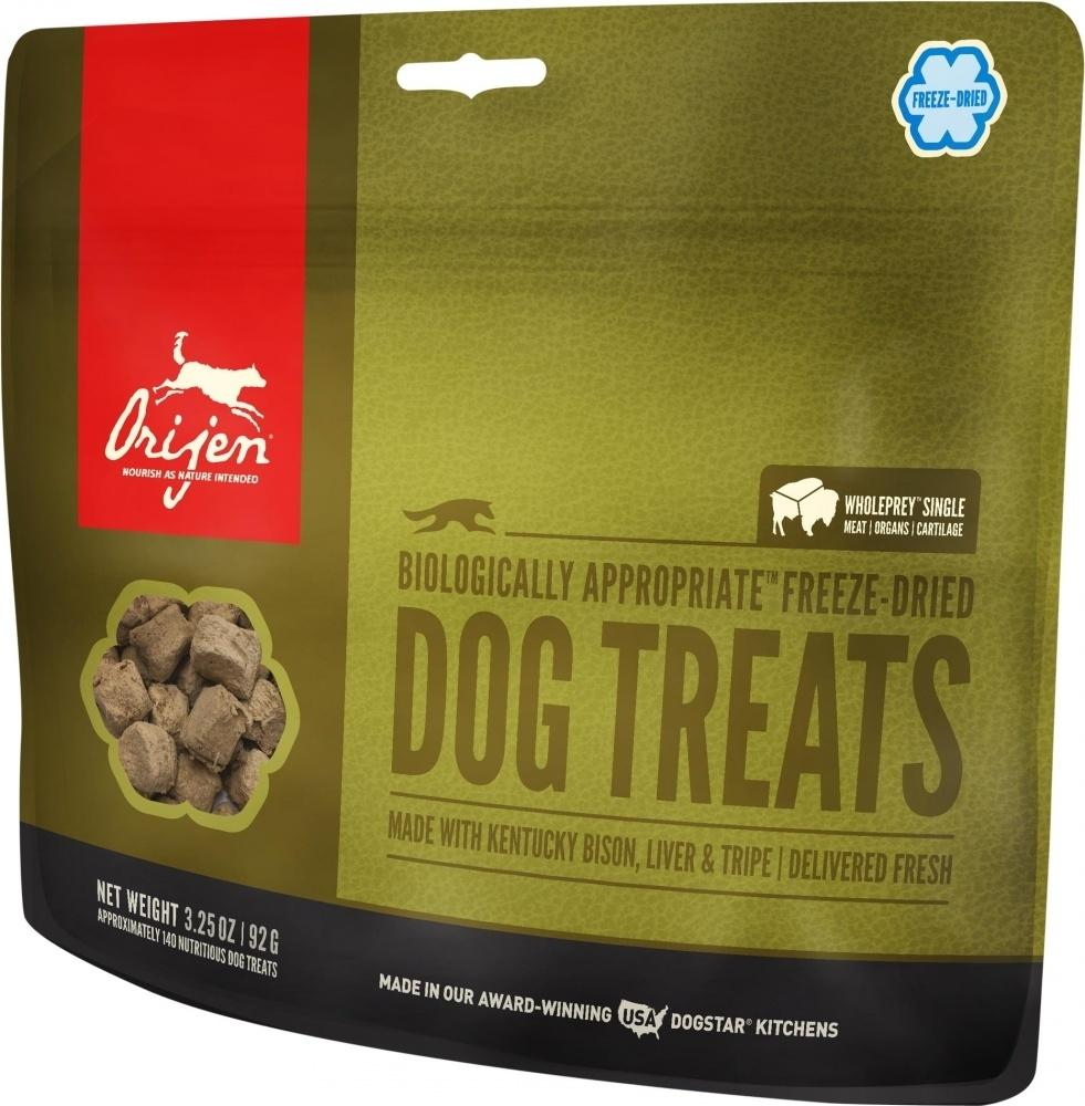 ORIJEN Freeze Dried Kentucky Bison Dog Treats, 1.5-oz Size: 1.5-oz