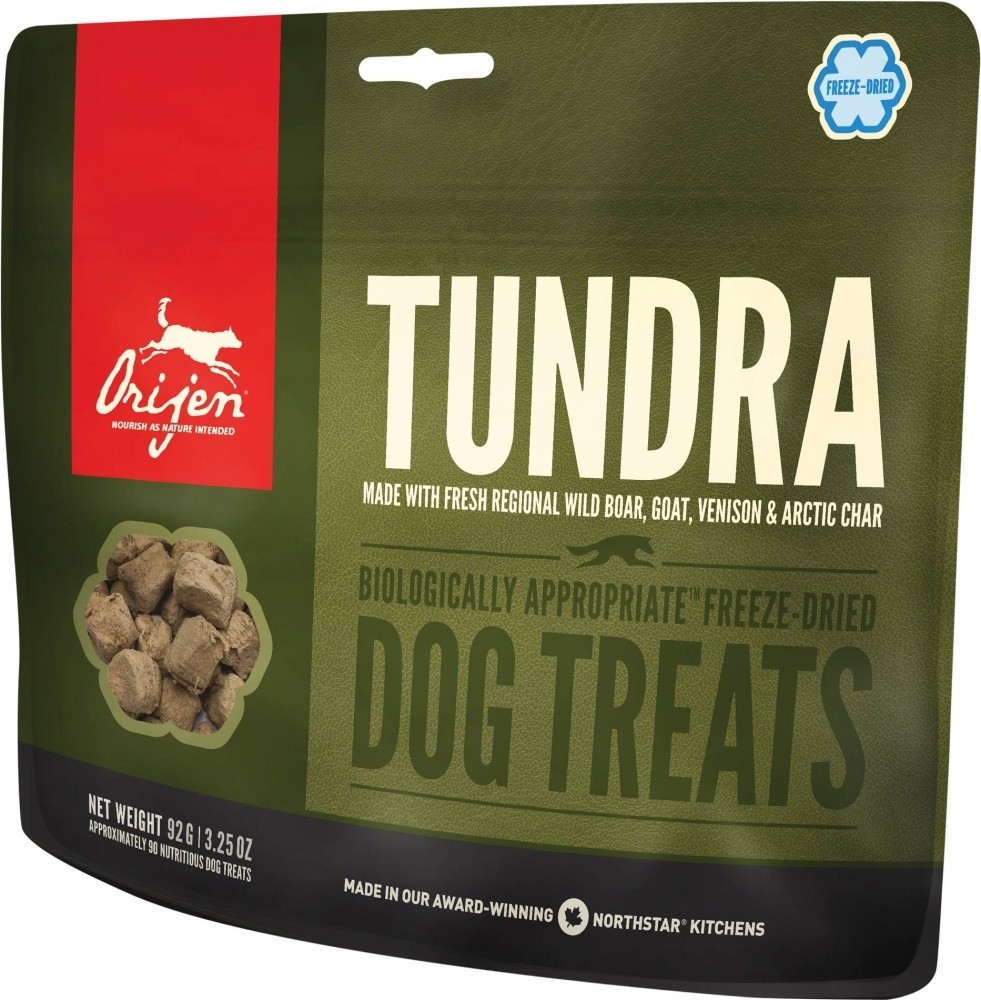 ORIJEN Freeze Dried Tundra Dog Treats, 1.5-oz