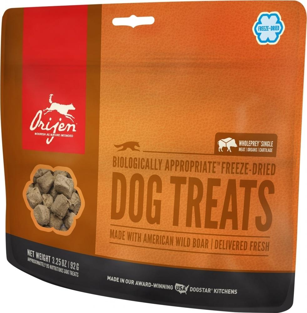 ORIJEN Freeze Dried Wild Boar Dog Treats, 1.5-oz