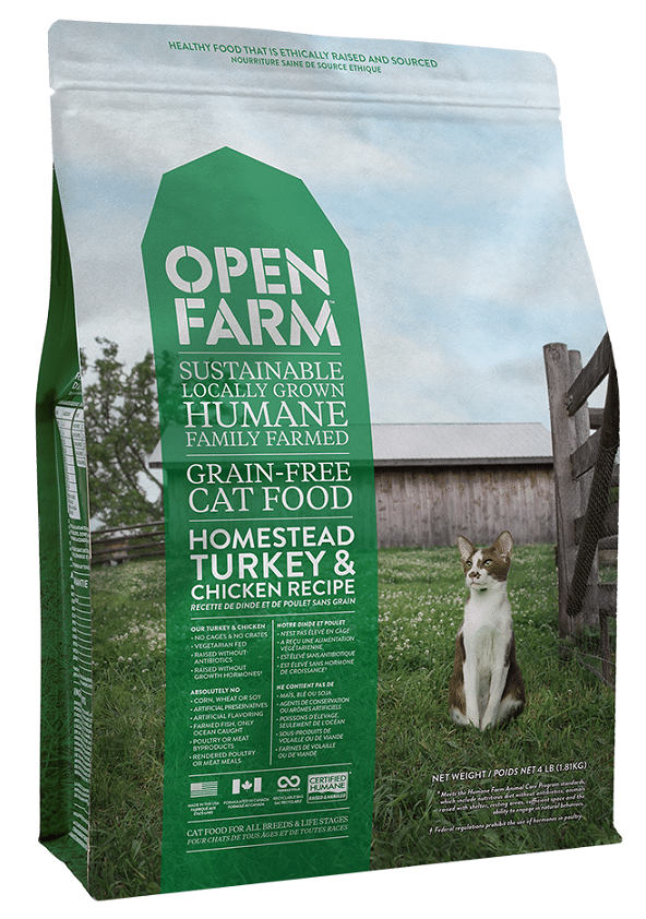 Open Farm Grain Free Homestead Turkey and Chicken Recipe Dry Cat Food Image