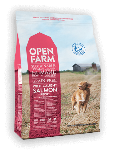 Open Farm Grain-Free Wild-Caught Salmon Recipe Dry Dog Food, 24-lb