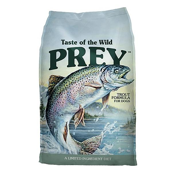 Taste of the Wild Prey Trout Limited Ingredient Formula Grain-Free Dry Dog Food, 8-lb