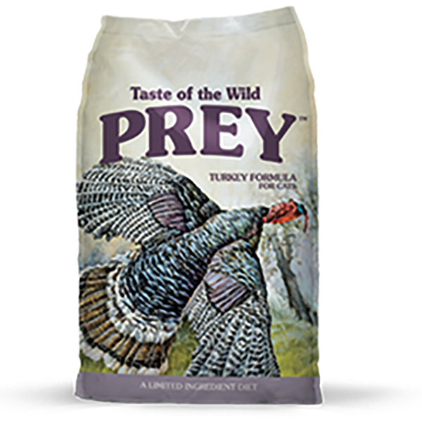 Taste of the Wild Prey Turkey Limited Ingredient Formula Grain-Free Dry Cat Food, 6-lb
