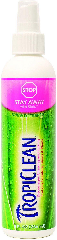 TropiClean Stay Away Chew Deterrent, 8-oz bottle