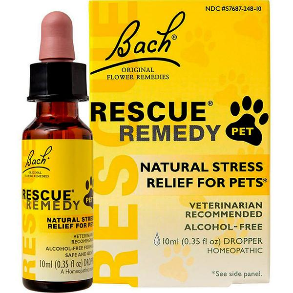 Rescue Remedy Pet Natural Flower Extract Stress-Relief Liquid