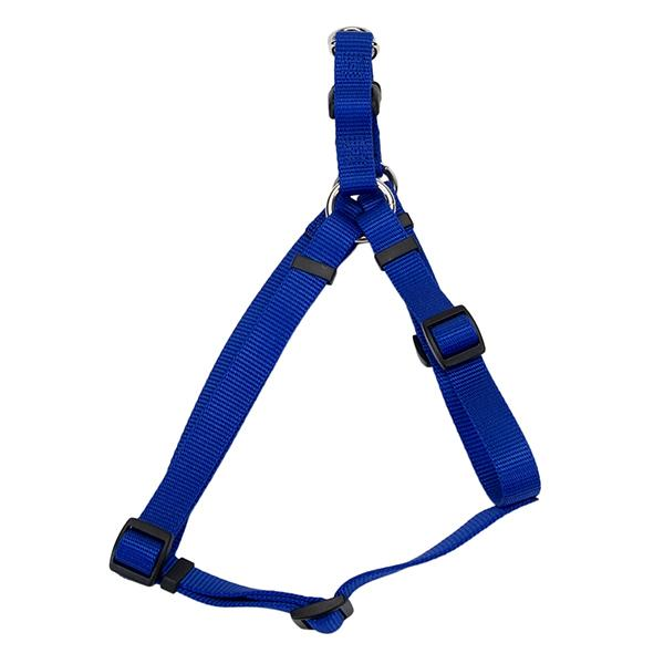 Coastal Pet Comfort Wrap Adjustable Nylon Harness, Blue, Extra Small ( 12-in-18-in Girth, 3/8-in Straps )
