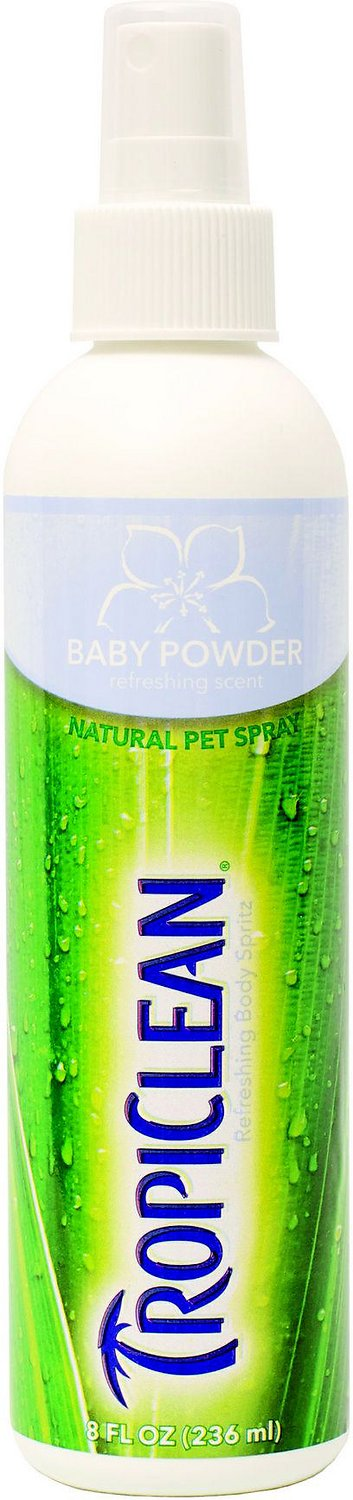 TropiClean Baby Powder Cologne, 8-oz bottle