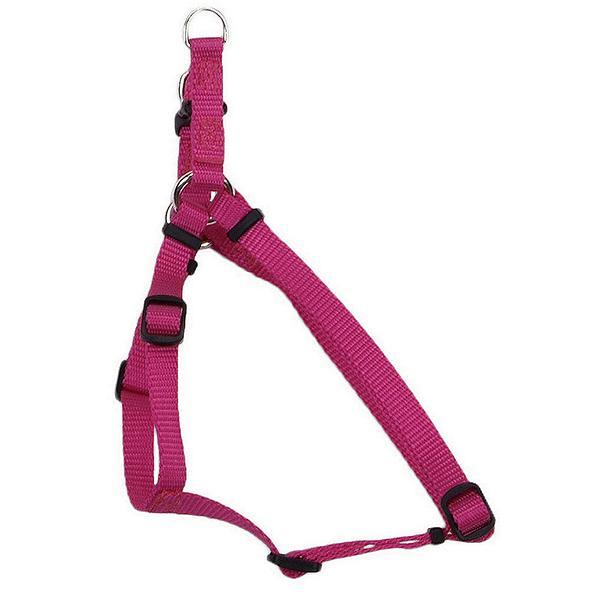 Coastal Pet Comfort Wrap Adjustable Nylon Harness, Pink Flamingo, Medium ( 20-in-30-in Girth, 3/4-in Straps )