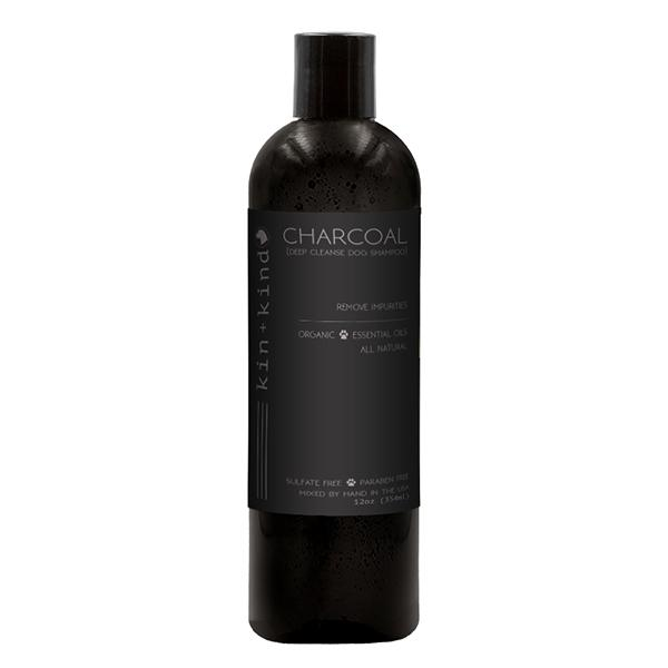 CHARCOAL All Natural & Organic Purifying Dog Shampoo