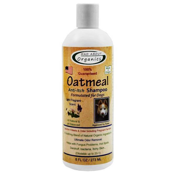 Organic Anti-Itch Oatmeal Dog Shampoo