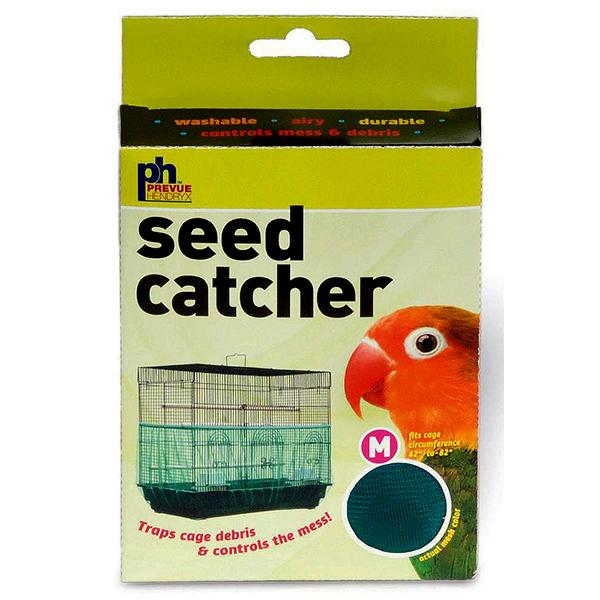 Prevue Pet Products Nylon Mesh Bird Seed Catcher with Elastic Band, Medium (42-in - 82-in Circumference)
