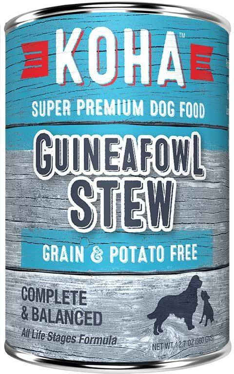 Koha Dog Food Guineafowl Stew 12.7oz
