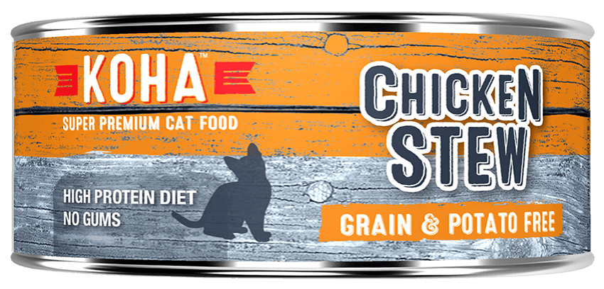 KOHA Canned Cat Food - Chicken Stew - 5.5oz