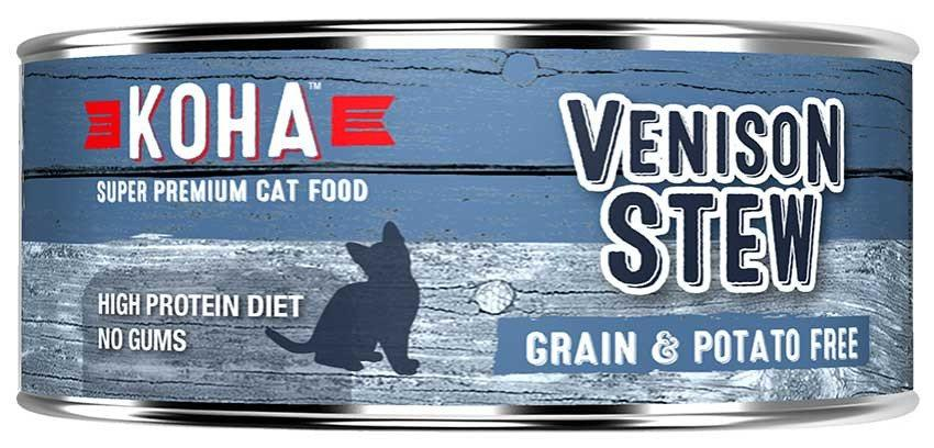 KOHA Canned Cat Food - Venison Stew - 5.5oz