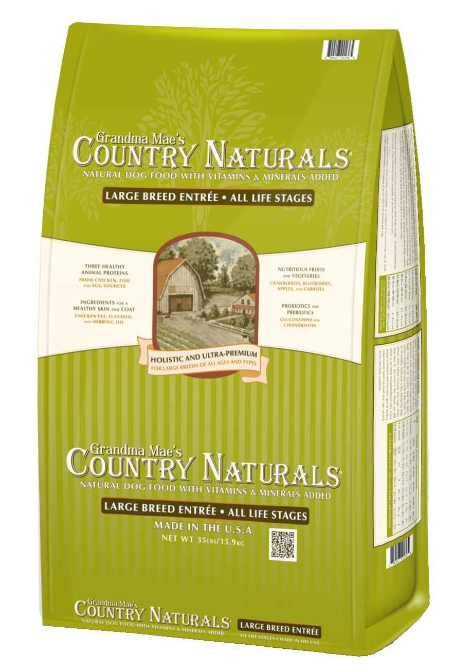 Grandma Mae's Country Naturals Large Breed Dry Cat Food, 35-lb