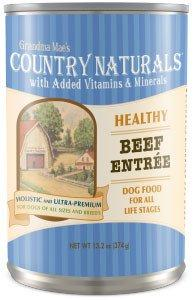 Grandma Mae's Country Naturals Healthy Entrees Beef Wet Dog Food, 13.2-oz