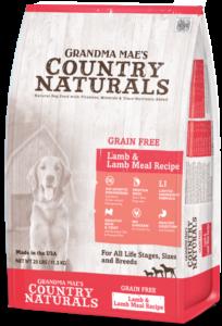 Grandma Mae's Country Naturals Grain-Free Limited Ingredient Lamb Dry Dog Food, 25-lb