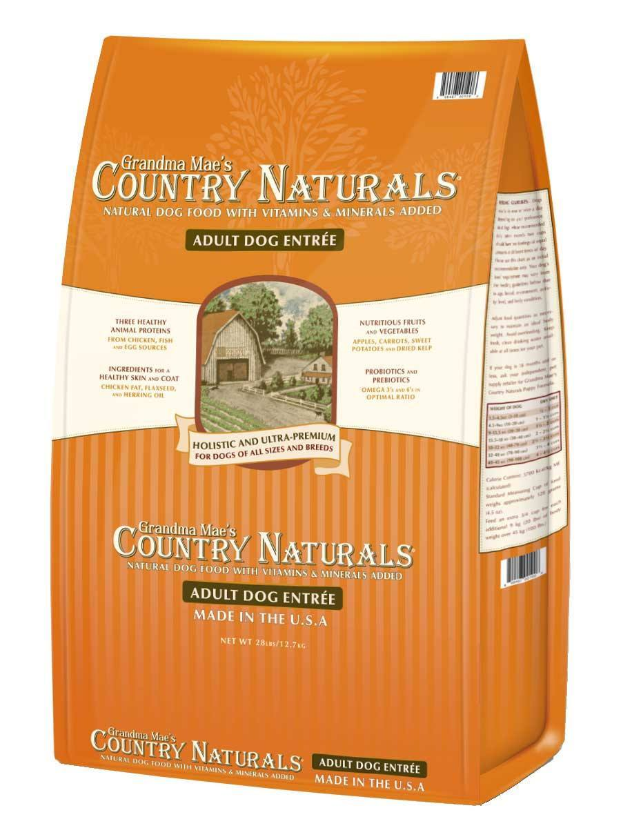 Grandma Mae's Country Naturals Adult Entrée Dry Dog Food, 14-lb