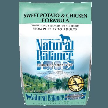 Natural Balance - LID Sweet Potato & Chicken